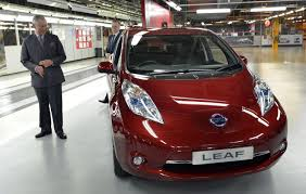 nissan leaf jump start nissan leaf sales fall in january 2015 for first time in 2 years in us