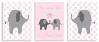 Pink Elephant Nursery Decor Amazing Residential Elephant Nursery Décor Oaksenham