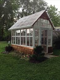 Backyard Greenhouse Designs by Best 25 Old Window Greenhouse Ideas On Pinterest Window