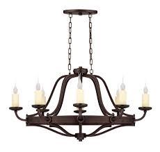kichler 2345oz circolo eight light oval chandelier picture