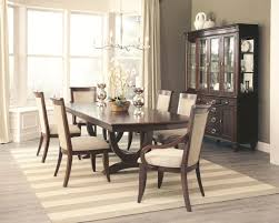 Dark Dining Room Table by 105441 Alyssa Dining Table In Dark Cognac By Coaster W Options