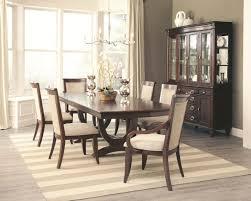 coaster dining room sets 105441 alyssa dining table in dark cognac by coaster w options