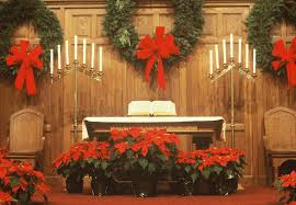 christmas church altar decoration best church christmas