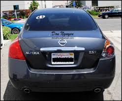 nissan altima coupe vinyl wrap don nguyen vinyl roof wrapping services stickers graphics