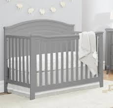 Top Rated Convertible Cribs by Sorelle Berkley Round Top Panel Convertible Crib Grey Toys