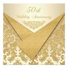 fiftieth anniversary 50th wedding anniversary invitations announcements zazzle co uk