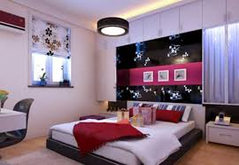 Brown Bedroom Decorating Color Schemes White Wooden Finish Flooring Idea Light Brown Colored Carpet Black