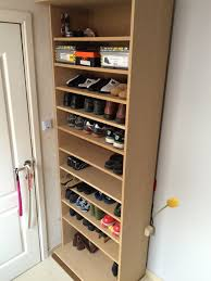 cheap shoe rack ideas cabinets cabinet brown rectangle