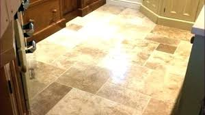 Kitchen Tile Floor Designs Travertine Tile In Kitchen Granite Cabinet Tile Travertine