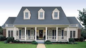 house plans with large front porch architectural styles