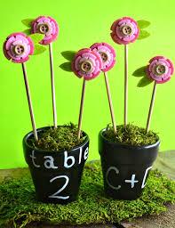 flower pot favors diy chalkboard flower pot favors