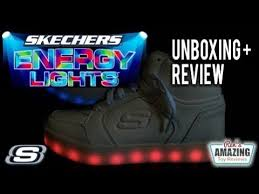 skechers energy lights reviews skechers energy lights shoes unboxing and review videos