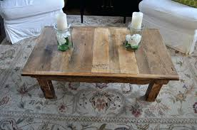 reclaimed wood side table restoration hardware reclaimed wood side