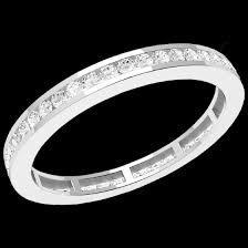 verlobungsring platin brillant voll eternity ring ehering mit diamanten fuer dame in platin mit