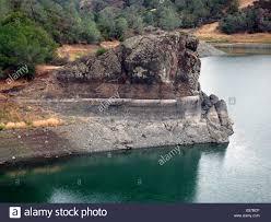 lake berryessa california drought stock photo royalty free image