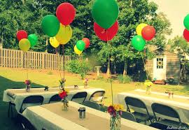 backyard graduation party decorating ideas awesome with photo of