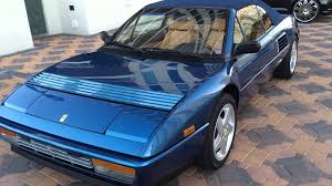 1993 ferrari 1993 ferrari mondial convertible at celebrity cars las vegas youtube