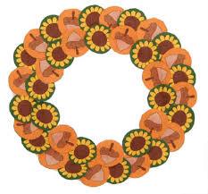 autumn wreath paper plate fall wreath