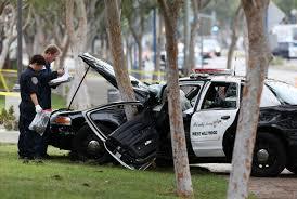 los angeles county patrol car crash kills pedestrian wtop