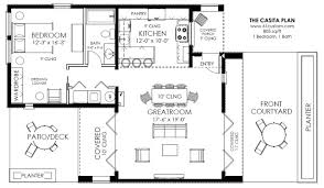 one floor house plans small modern house plans one floor home mansion plan casita 800