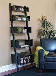 Leaning Ladder Bookcases by Furniture Extraordinary Ladder Bookshelves From Modest To Gallery