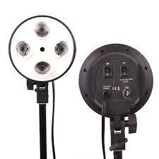 small light socket kit photo studio kit photography lighting 4 socket l holder 50 70cm