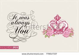 bridal greeting card luxury queen crown stock vector 778017337