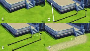 building for beginners in the sims 4 decks floors decor