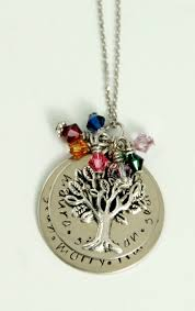 grandmother s necklace 61 best birthstone necklace images on birthstone