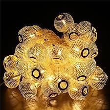 Decorative Lights For Bedroom by Amazon Com Bluefire 50 Led Bulbs 31ft Long Lantern Fairy Lights
