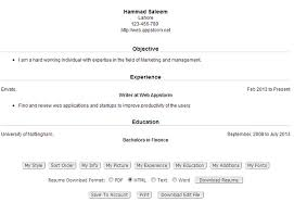 8 online tools to create a professional slick resume web appstorm