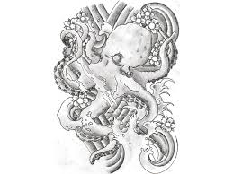 Japanese Designs 55 Best Japanese Octopus Tattoos Collection