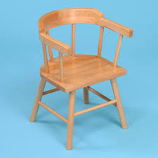 Childrens Armchair Uk 2 X Wooden Children U0027s Captains Chairs From Early Years Resources Uk