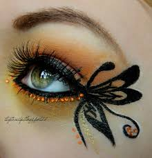 Halloween Butterfly Makeup by Butterfly Makeup Tutorial Makeup Geek