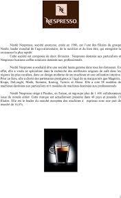 siege nespresso a historique les dates clés de nespresso pdf