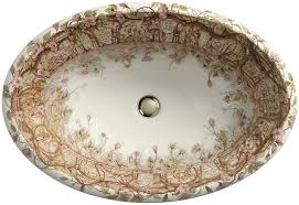 kohler k 14274 br 96 tale of briar rose design on centerpiece self