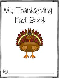 thanksgiving fact book freebie by florida firsties tpt