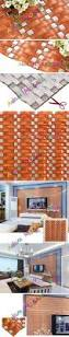arched glass mosaic tile orang tiles 3d kitchen backsplash shower