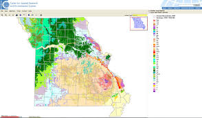 County Map Of Missouri Missouri Map Room Center For Applied Research And Environmental