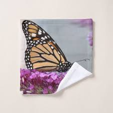 monarch butterfly bath towel set home gifts ideas decor special