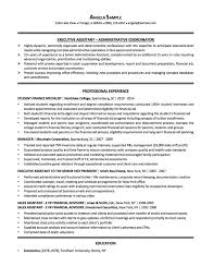 executive resume format resume samples chicago resume expert executive assistant sample