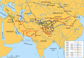 map on road silk road map the map of ancient silk road with major cities
