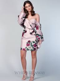 cocktail dresses for wedding wedding guest cocktail dresses white runway