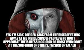 Im Sick Meme - meme creator yes i m sick officer sick from the disease eating