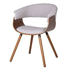 Wooden Accent Chair Mid Century Modern Styling Bent Wood Accent Chair With