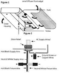How To Install A Fluorescent Light Fixture Info Fluorescent Counter Light Fixture Installation