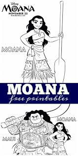 moana free printables free printables and free printable