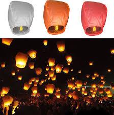 lanterne chinoise mariage chinois résistant papier lanternes ciel de mouche le de bougie