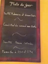 cuisine de philippe le menu du jour picture of la cuisine de philippe