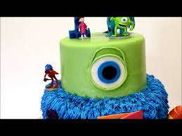 monsters inc halloween decorations monster inc movie cake custom monster inc cake with figures